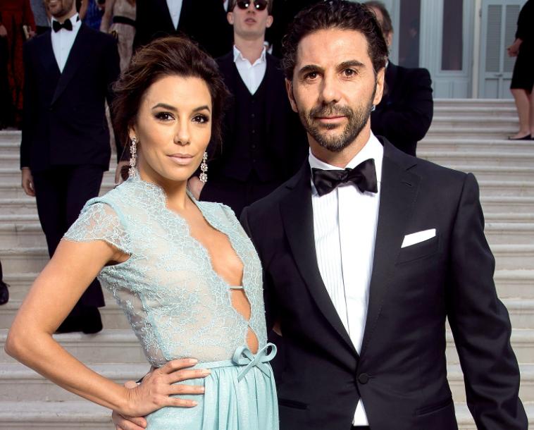 Eva Longoria and her husband, Jose Antonio