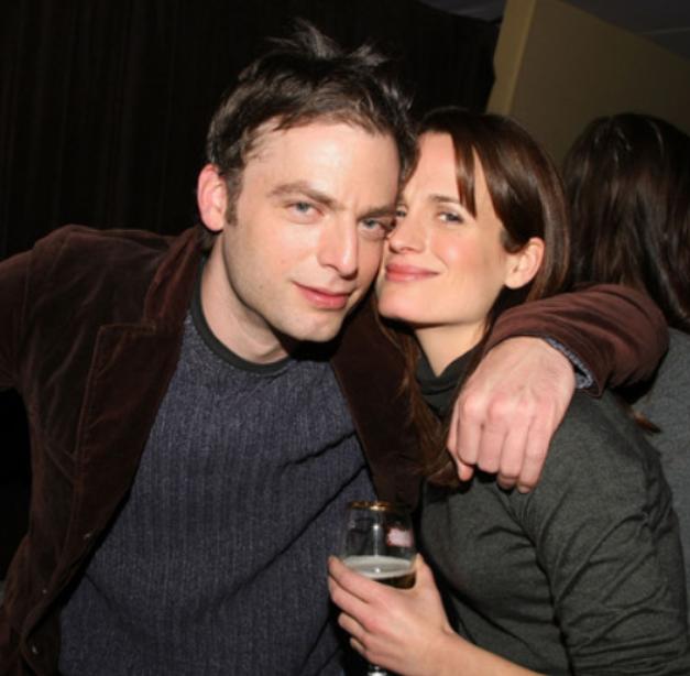Justin Kirk and his ex-girlfriend, Elizabeth Reaser