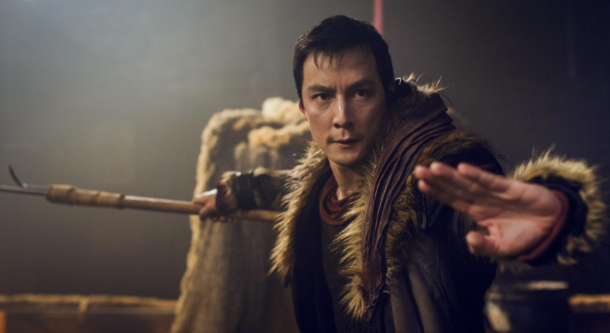 Daniel Wu, a famous Chinese-American actor