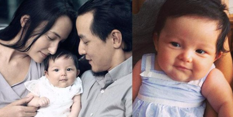 Daniel Wu with his wife, Lisa S. and their duaghter, Raven