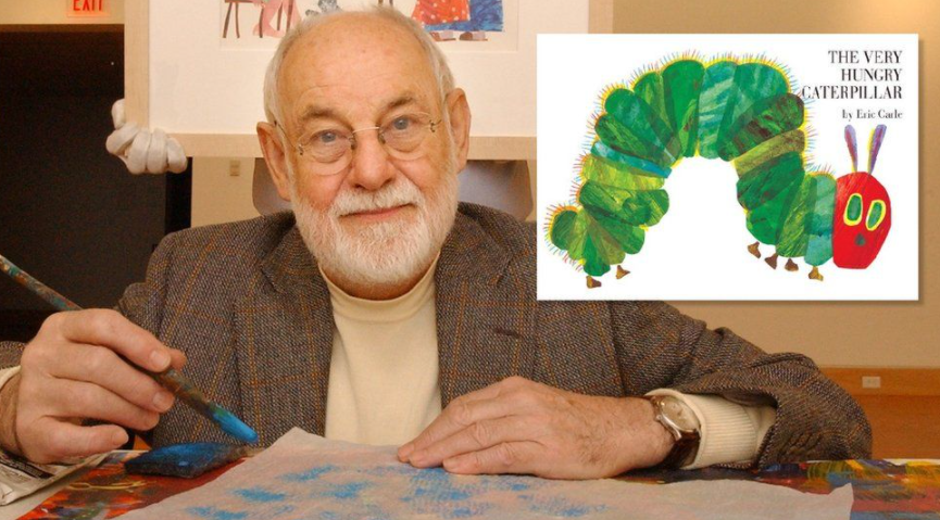 Author of the book, 'The Very Hungry Caterpillar'