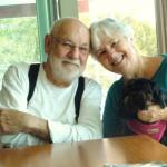 Eric Carle and his wife, Barbara Carle