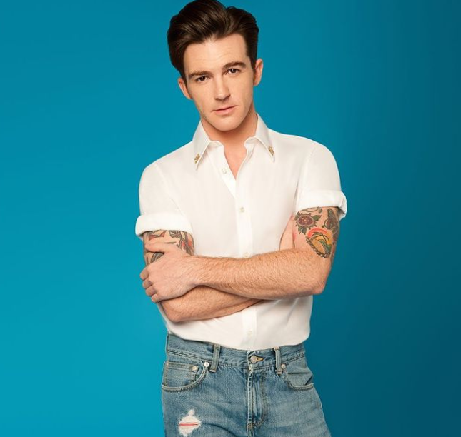 Drake Bell, a famous American actor as well as a singer