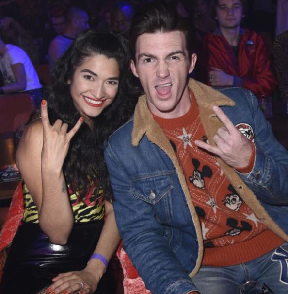 Drake Bell with his girlfriend, Janet Von