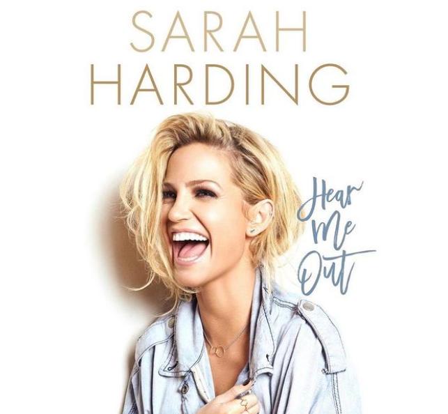 Sarah Harding Book, 'Hear Me Out'