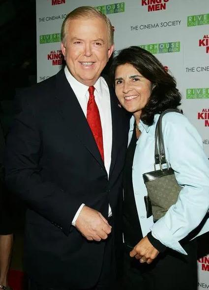 Lou Dobbs and her wife, Debi Lee Segura