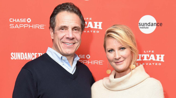 Andrew Cuomo and his ex-girlfriend, Sandra Lee