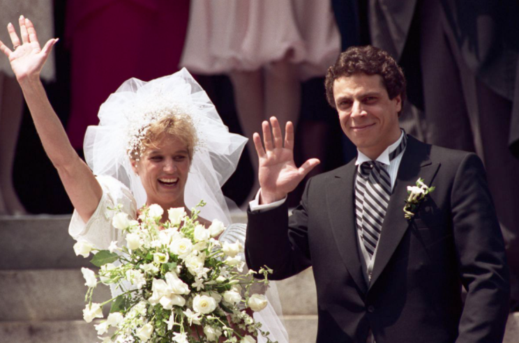 Andrew Cuomo and Kerry Kennedy's Wedding Picture