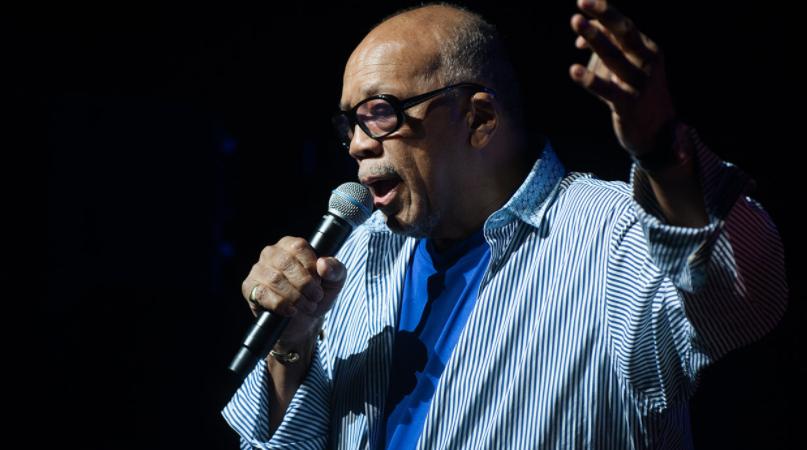 Quincy Jones Singing
