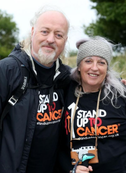 Bill Bailey and his wife, Kristin
