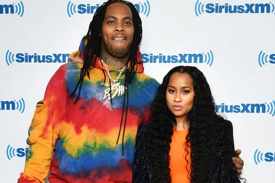 Tammy Rivera With Waka Flocka Flame