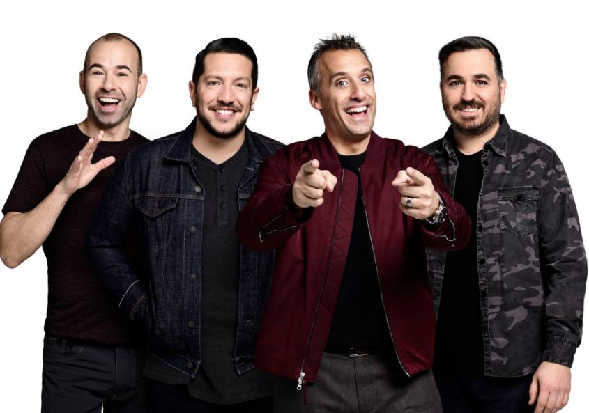 Group of 'The Tenderloins' from left, James 'Murr' Murray, Vulcano, Joe Gatto and Brian 'Q' Quinn