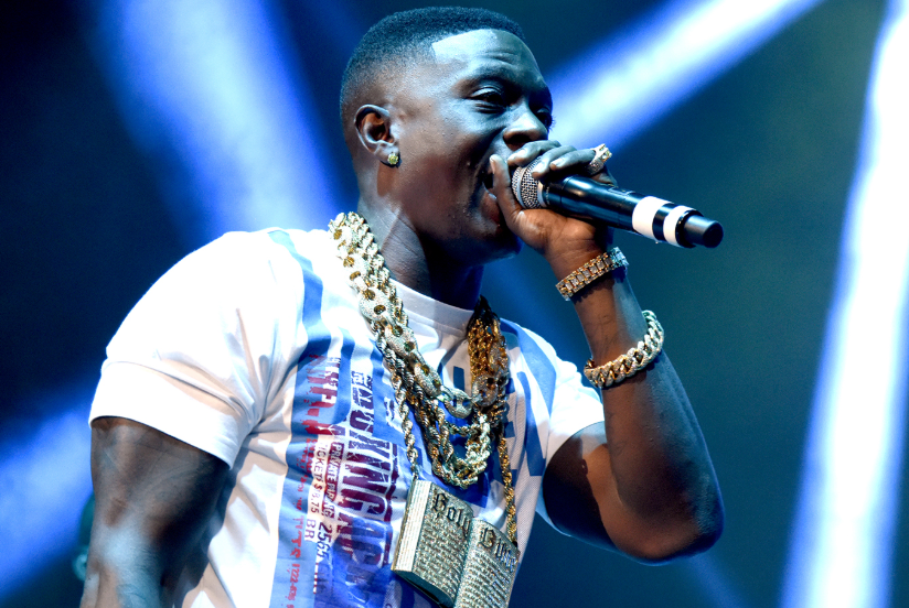 Boosie Badazz Singing In The Stage