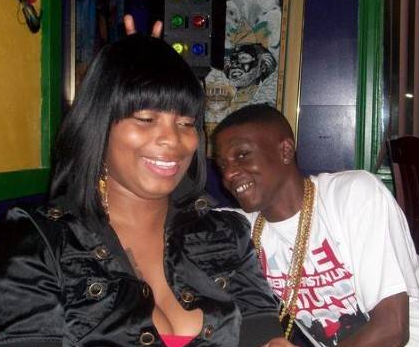 Boosie Badazz With His Wife Walnita Decuir