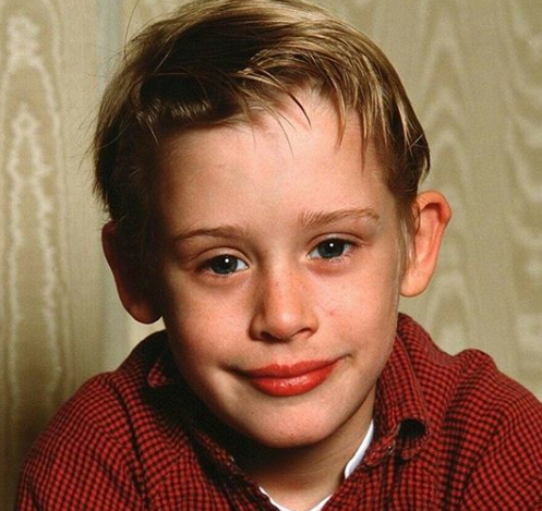 Macaulay Culkin In Childhood