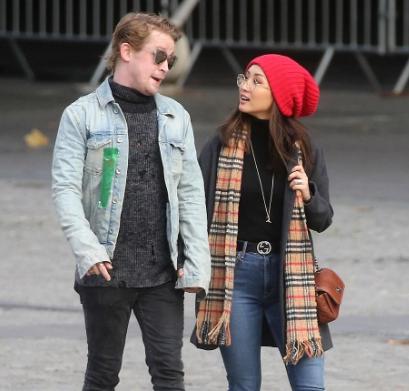 Macaulay Culkin With Brenda