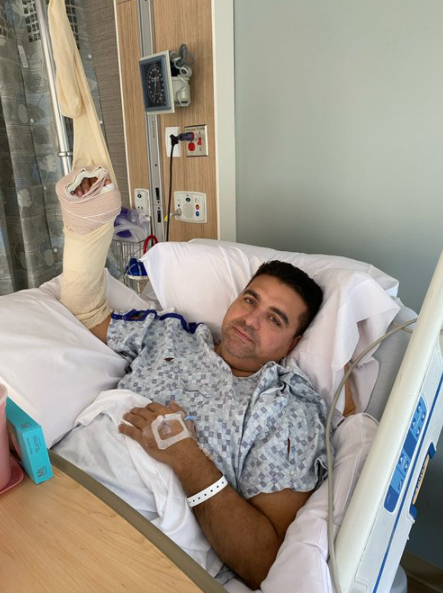 Buddy Valastro's Hand Injury