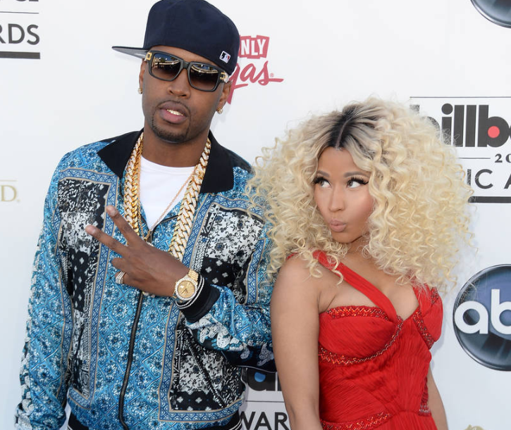 Safaree Samuels with Nicki Minaj