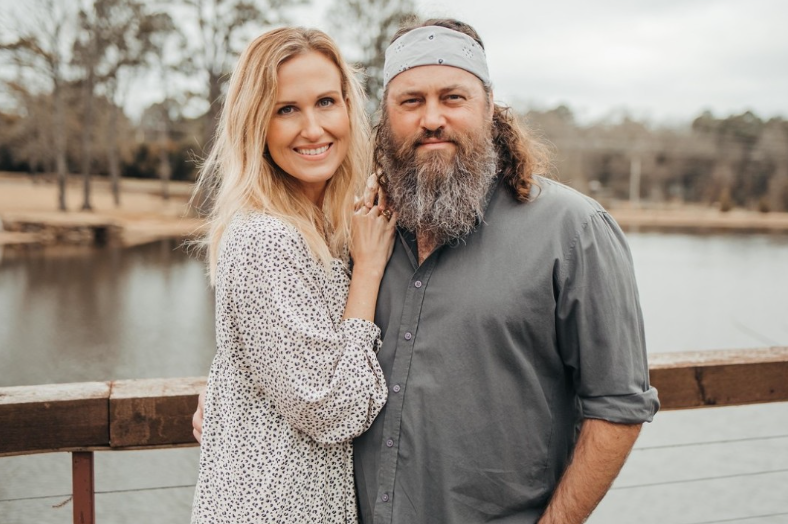 Willie Robertson with his wife, Korie