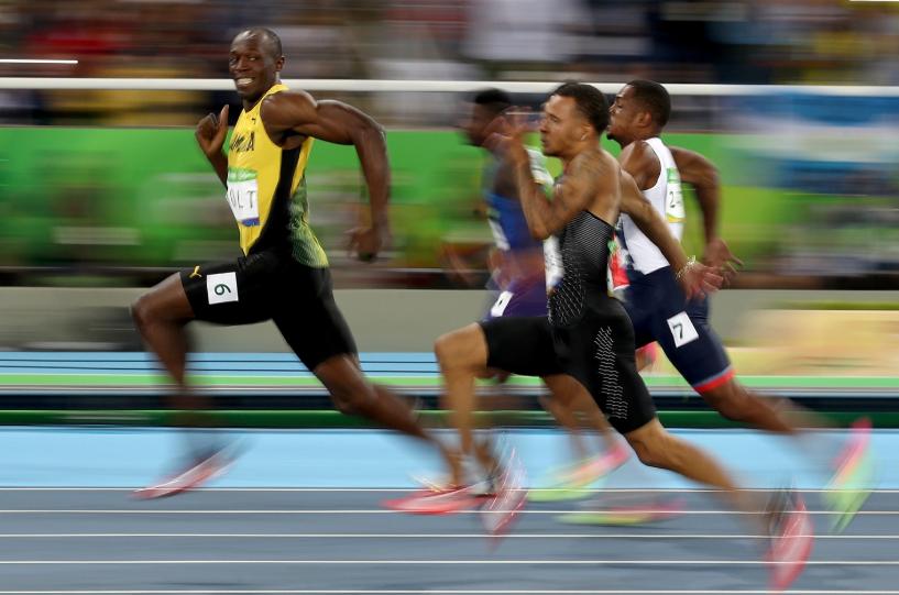 Usain Bolt, a former sprinter