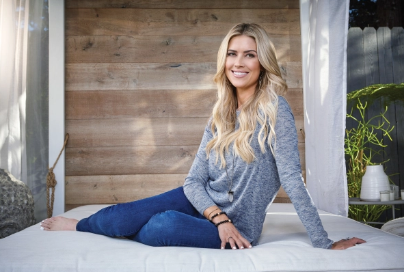 Christina Anstead, a famous TV personality and real estate investor