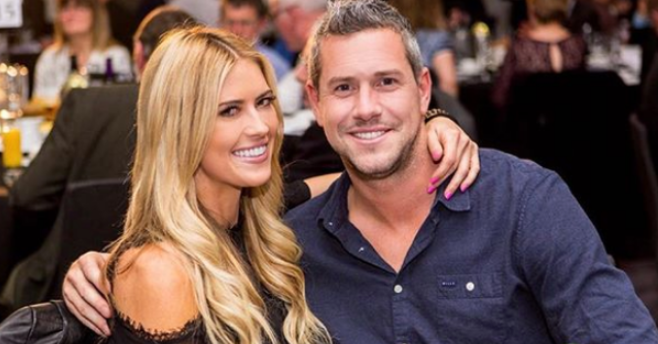 Christina Anstead with her husband Ant Anstead