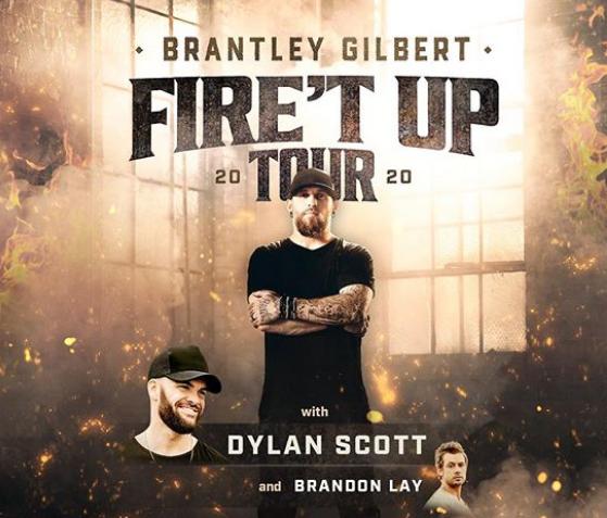 Brantley Gilbert 2020 Tour