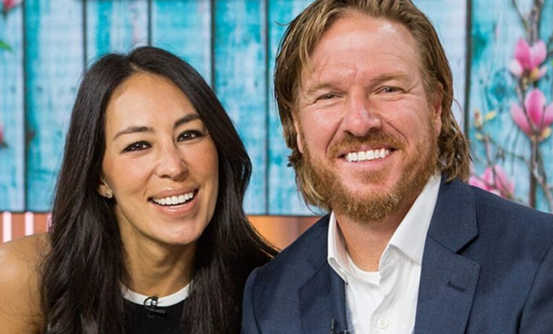 Joanna Gaines With Her Husband, Chip Gaines