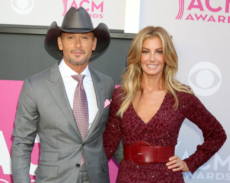 Tim McGraw and his wife, Faith Hill