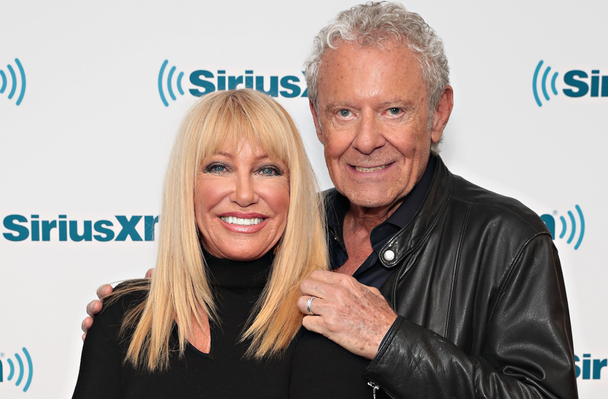 Alan Hamel with her wife, Suzanne Somers