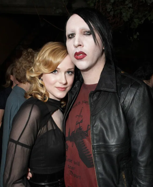 Marilyn Manson slammed the allegations against him after Evan Rachel Wood accused him of sex abuse