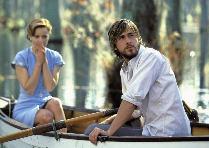 Ryan Gosling as Noah in 'The Notebook'