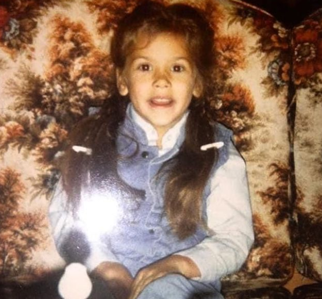 Mickie James Childhood Picture
