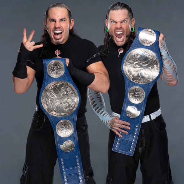 Jeff Hardy and Matt Hardy (The Hardy Boyz)