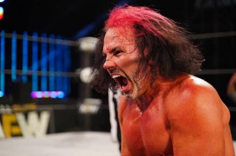 Matt Hardy Getting Busted Open on AEW Dynamite