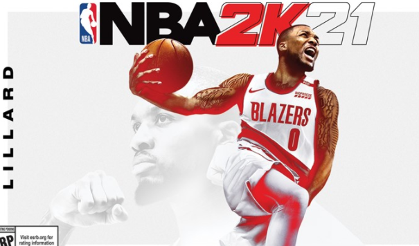 Damian Lillard has been chosen as one of three cover athletes for NBA 2K21