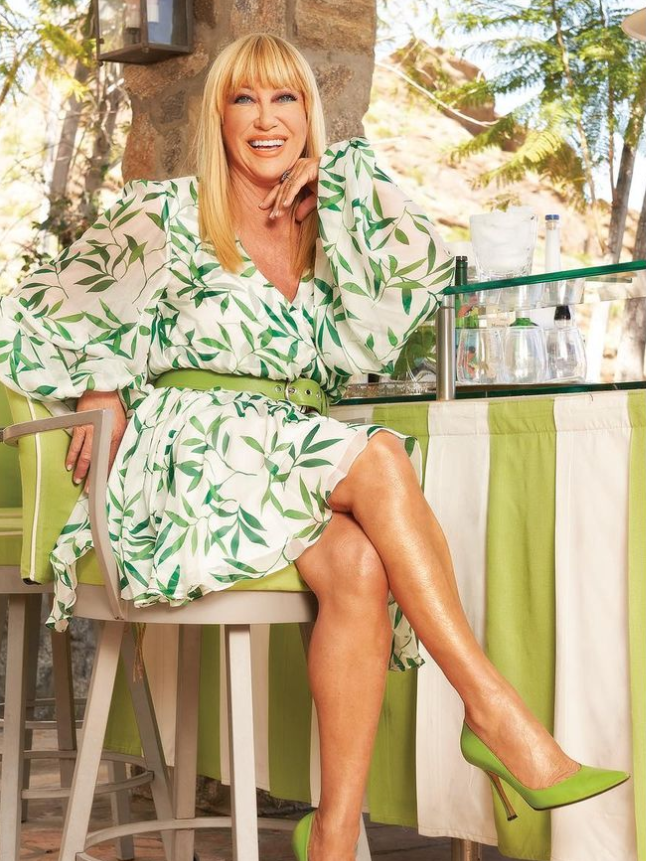 American actress, author, singer, Suzanne Somers
