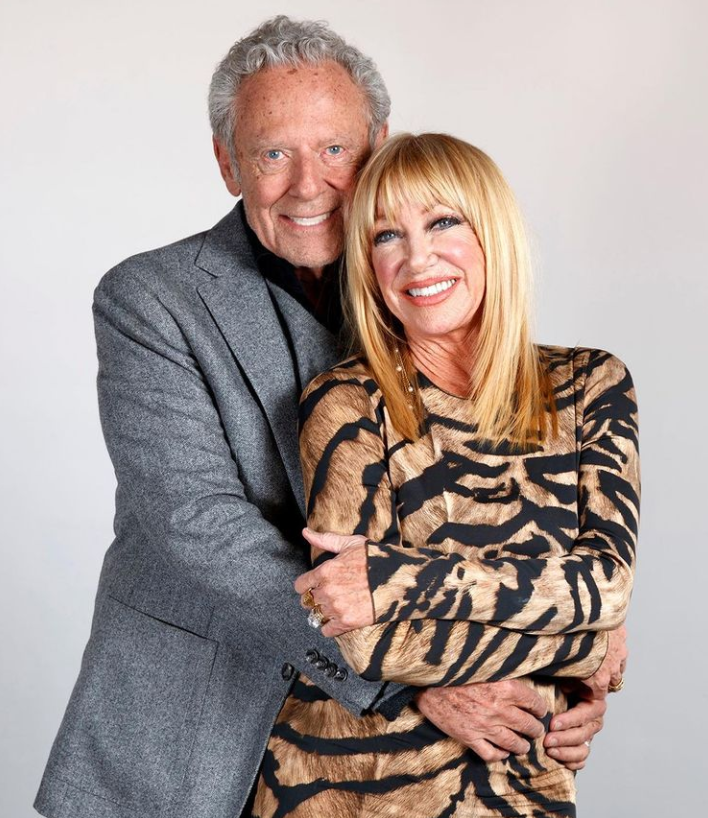 Suzanne Somers and her husband, Alan Hamel