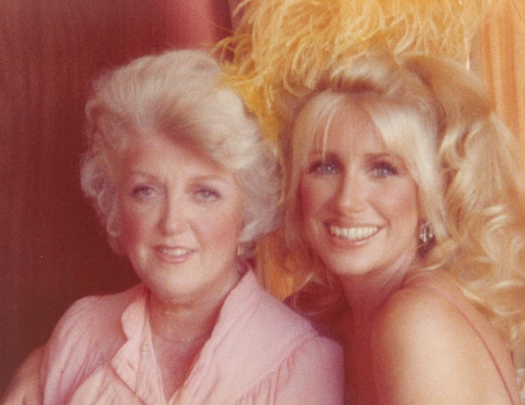 Suzanne Somers and her mother