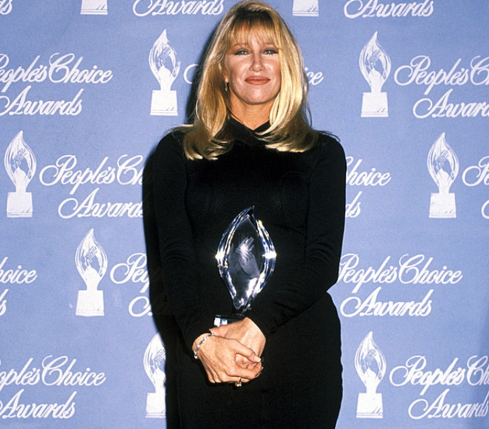 Suzanne Somers during 18th Annual People's Choice Awards