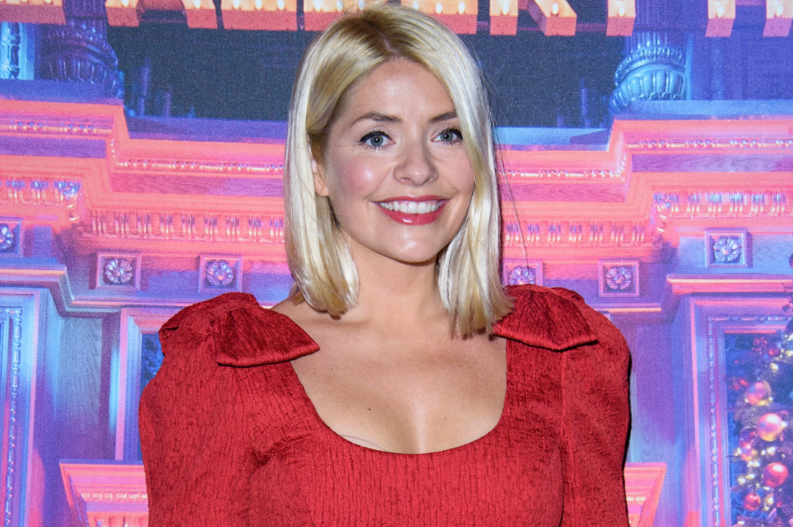 Holly Willoughby, a famous television presenter