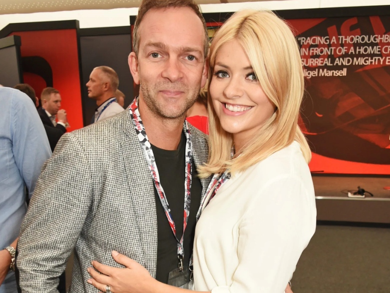 Holly Willoughby with her husband, Dan Baldwin