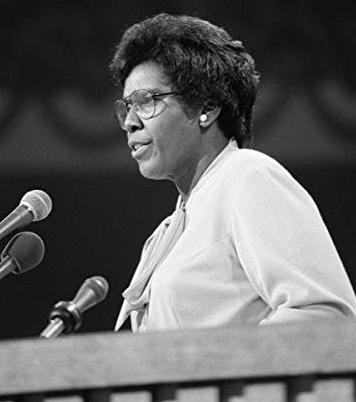 Barbara Jordan Giving Speech