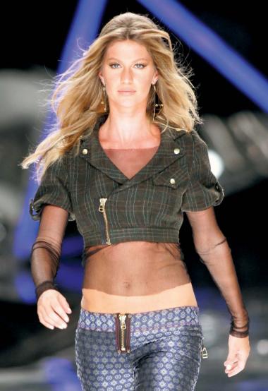 Gisele Bundchen, a famous Brazilian Model