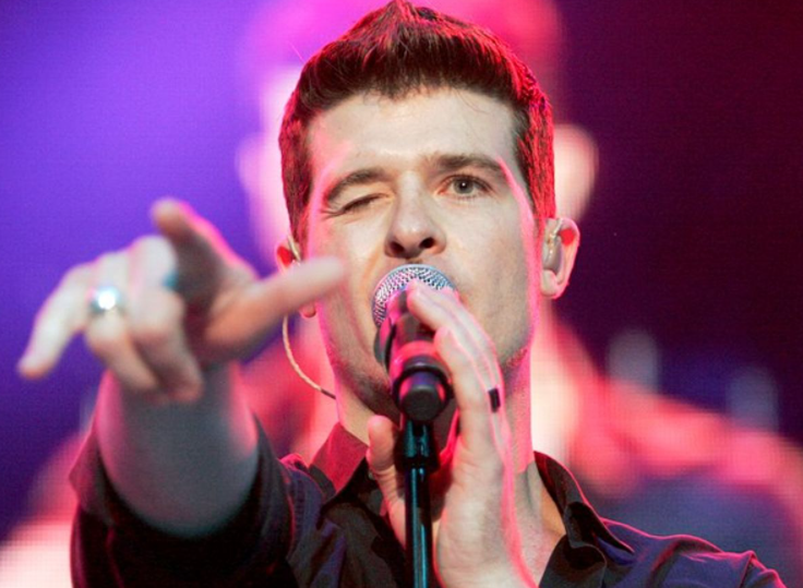 Robin Thicke, a famous singer
