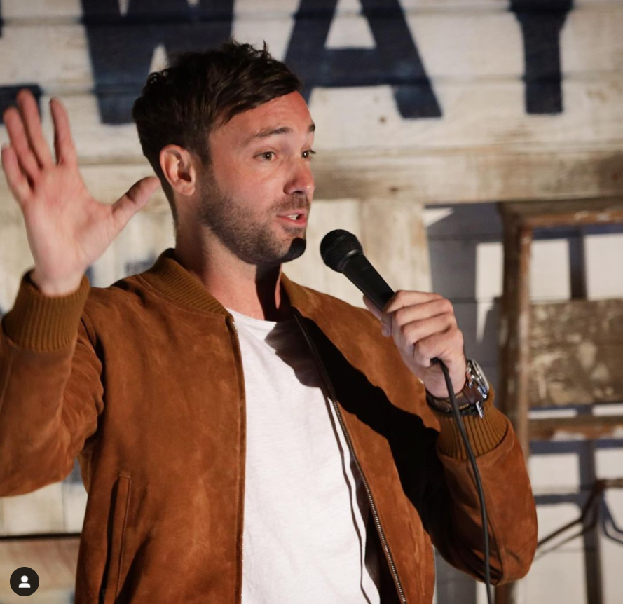 American Stand-Up Comedian, Jeff Dye