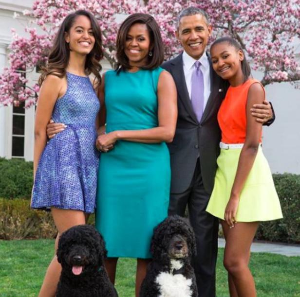 Sasha Obama's Family