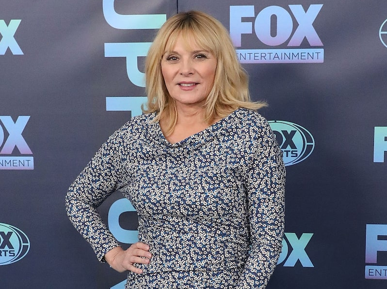 Kim Cattrall, a famous actress