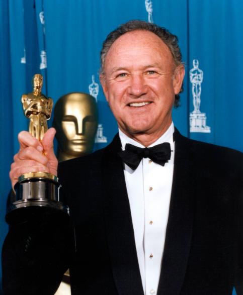 Gene Hackman, an award winning actor