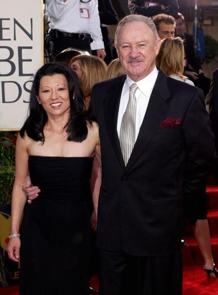 Gene Hackman & his second wife, Betsy Arakawa